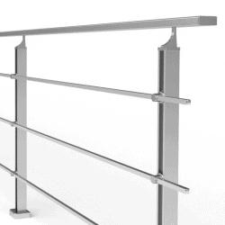 balustrada model boston-mga aluminiowa cena